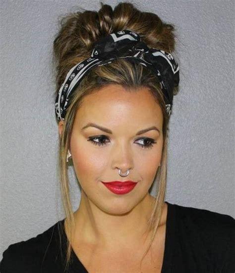 hair styles with wrap 20 frisuren mit haarband selber machen