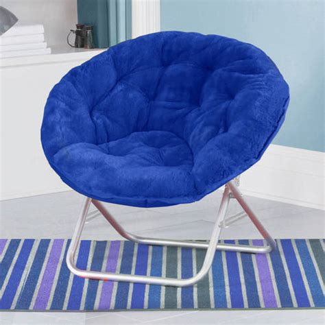 small folding chair walmart mainstays folding papasan chair navy walmart