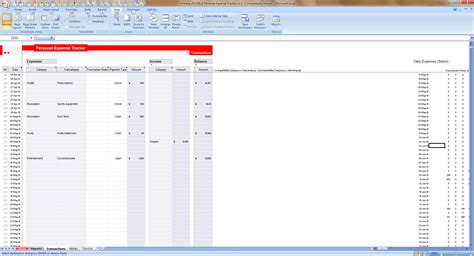 Tracker Excel Template by Expense Tracking Spreadsheet Template Tracking Spreadsheet