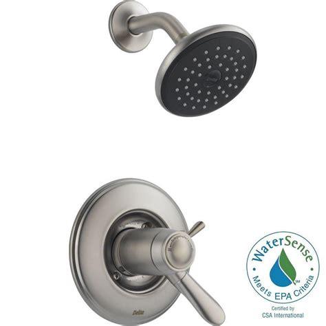 delta lahara tempassure 17t series 1 handle shower faucet