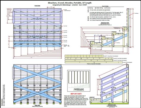 how to make house plans how to build wooden bleachers pdf woodworking