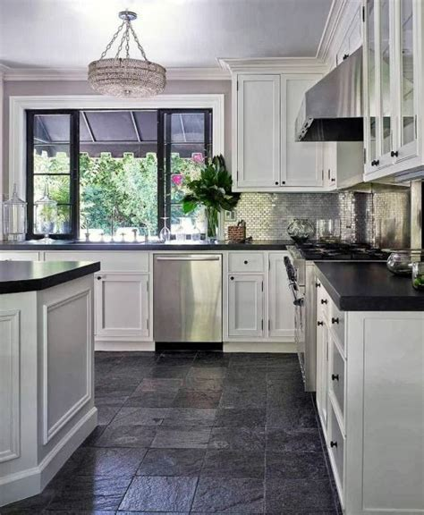 Slate Grey Countertops 25 Best Ideas About Slate Floor Kitchen On