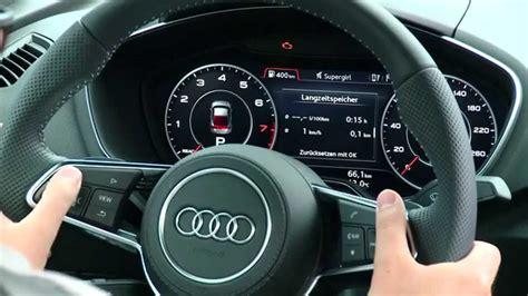 Die (r)Evolution im Auto: Das Virtual Cockpit des Audi TT YouTube