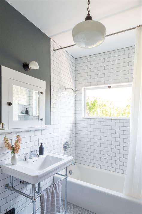 Bathroom Subway Tiles - classic tile in the bathroom the gold hive