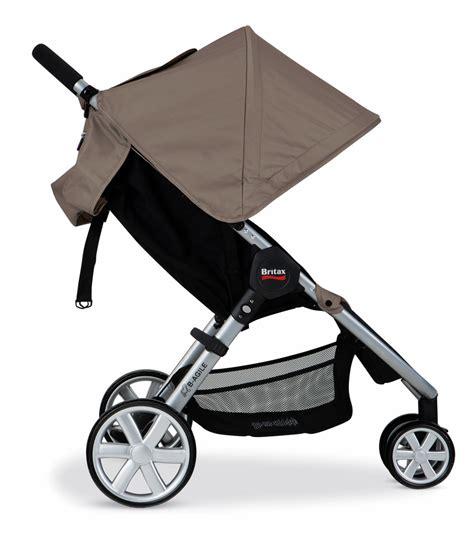 Britax B Agile Stroller Recline by Britax B Agile 2014 Stroller Sandstone