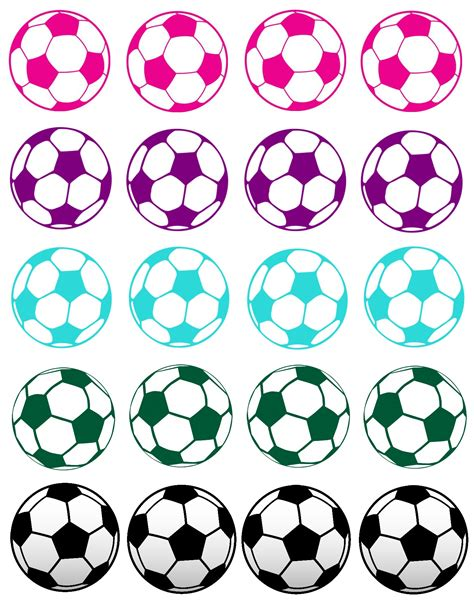 printable soccer stickers free printable soccer pictures clipart best