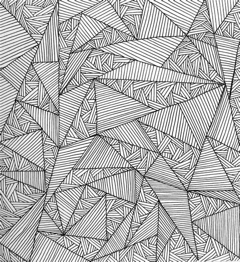 geometric doodle ideas line pattern pencil and in color line