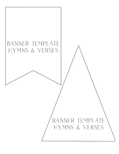 How To Make A Fabric Banner That Won T Fray Hymns And Verses Banner Template For Pages