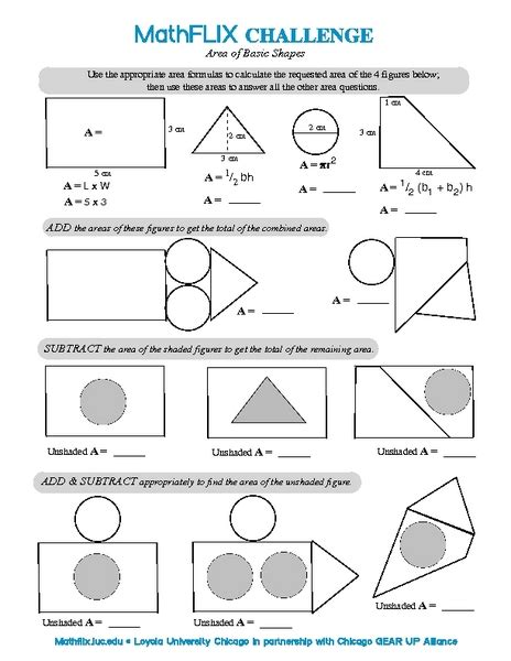 Area Compound Shapes Worksheet Answers by Area Of Compound Figures Worksheet Worksheets