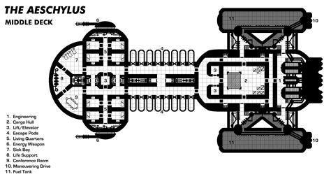 spaceship floor plans sci fi spacecraft deck plans page 4 pics about space
