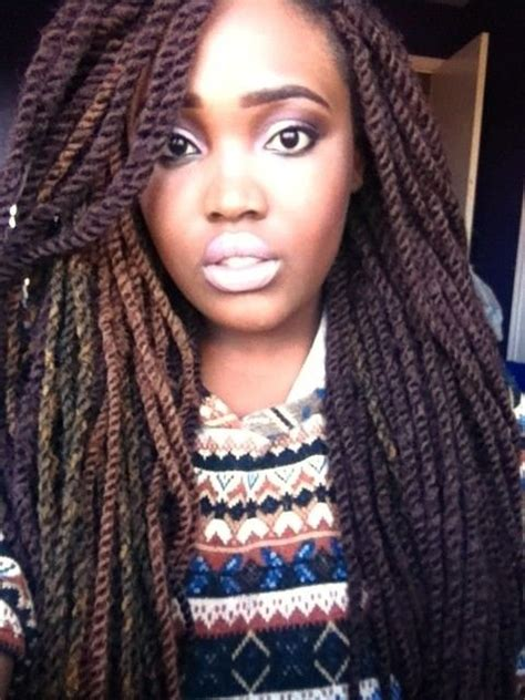 using differentcolored extensions for senegalesetwist ombre senegalese twist google search twisted