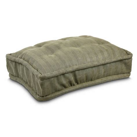 dog bed pillow replacement cover snoozer pillow top dog bed 25 colors
