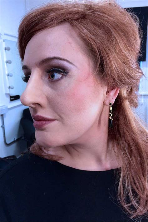 adele profiles behind the make up adele as jenny the impersonator make