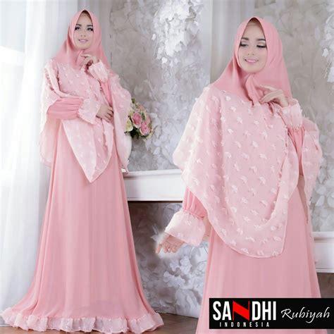 New Arrival Gamis Azzahra Syar39i By Dna Clothing Indonesia rubiyah syari by sandhi distributor gamis branded original murah
