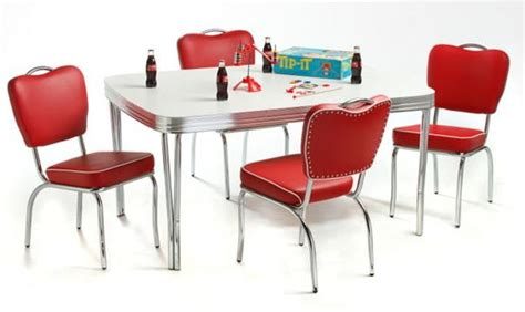 retro style dining table and chairs retro dining chairs kitchen table