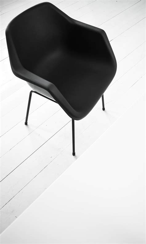 robin day polypropylene armchair in the house