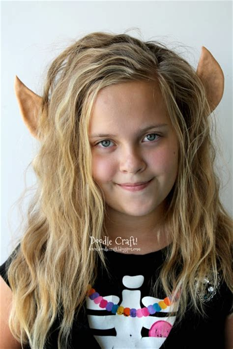 elf headband printable doodlecraft elven princess or christmas elf ears headband