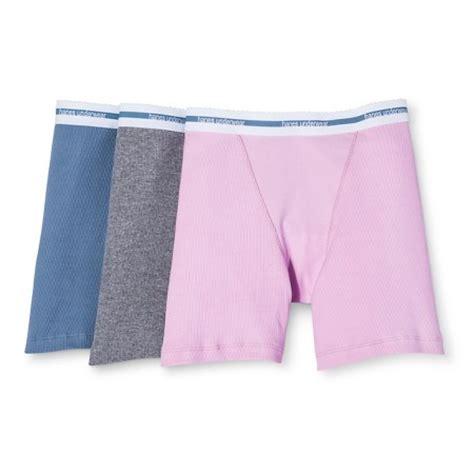 Premium Targets 3 Pack Hanes 174 Premium S Boyfriend Mid Thigh Boxer Brief 3