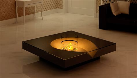 Modern Coffee Table Ideas Open Air Inspired Fireplaces