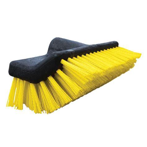 patio cleaning brush 10 in waterflow bi level deck scrub brush cleaner home