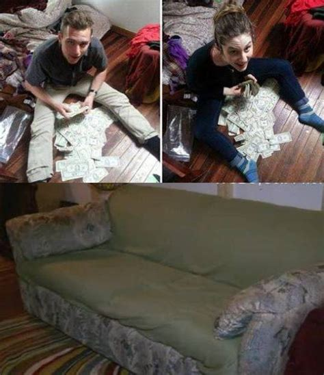 money found in couch ocala post roommates buy couch from thrift store and