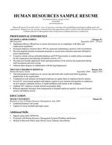 Cover Letter Human Resources Generalist