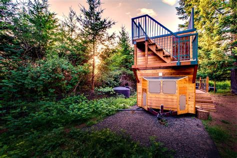 tiny house with deck engineer couple designs incredible off grid tiny home