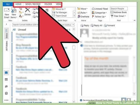 How To Search How To Find Tools In Outlook 2013 14 Steps With Pictures