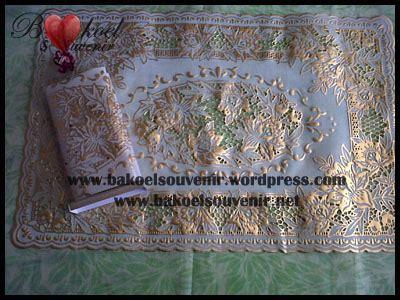 Souvenir Nikah Taplak Bunga souvenir pernikahan souvenir taplak meja plastik tm 1 bakoel souvenir gt gt menjual berbagai