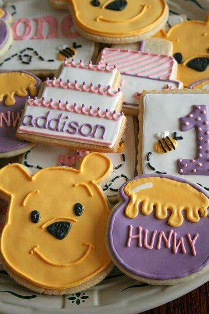 winnie the pooh centerpiece ideas galletas decoradas para un cumplea 241 os tem 225 tico de winnie