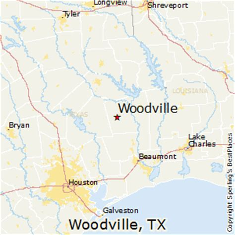 woodville texas map best places to live in woodville texas
