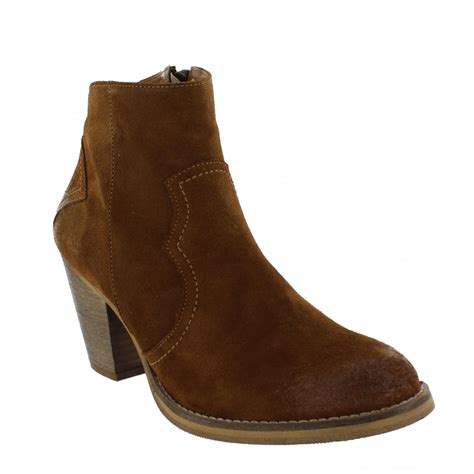 marta jonsson womens western ankle boot 6719s s
