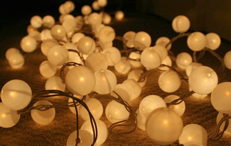 ping pong ball lights the surznick common room