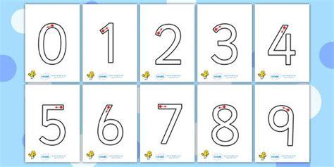 printable numbers twinkl number formation primary resources worksheet page 1