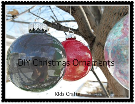 diy christmas ornaments simple kids crafts