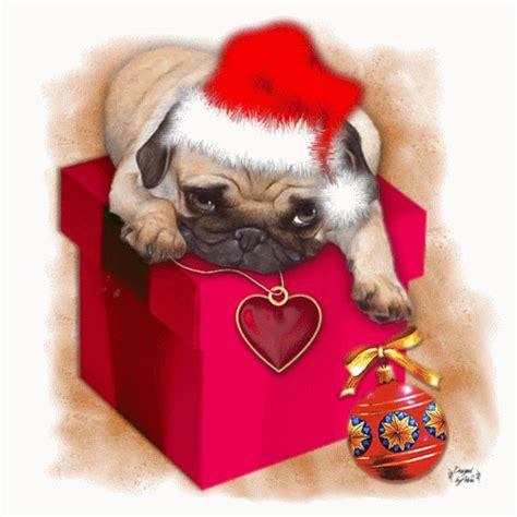 imagenes de navidad movibles cachorro navidad