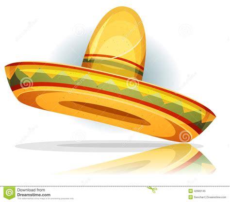 cartoon sombrero mexican sombrero stock vector illustration of tradition