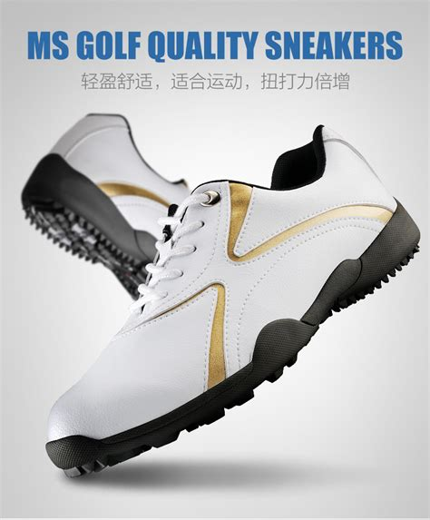 sport soft golf shoes color white size 39 44 intl