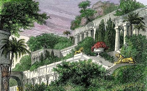hanging garden hanging gardens of babylon pictures posters news and