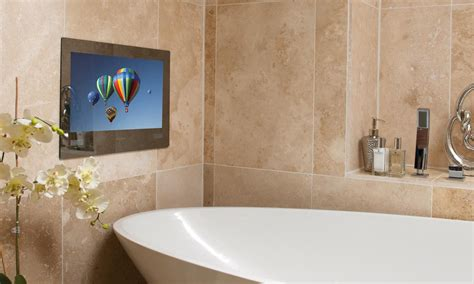 bathroom television is a tv in the bathroom a necessity or a luxury the