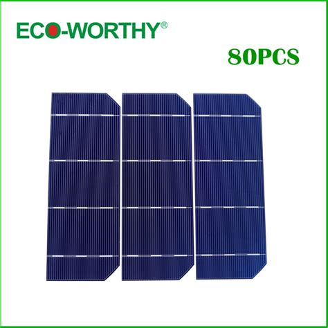 Solar Cell Monocrystalline 156 X 156mm Kit 3 Busbar Solar Panels Best 80pcs 6x2 solar cell kits mono monocrystalline silicon solar cell 156 58 5mm photovoltaic cell