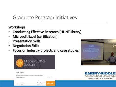 Mba Business Center Ormond by Webinar Ms And Mba Programs From Embry Riddle