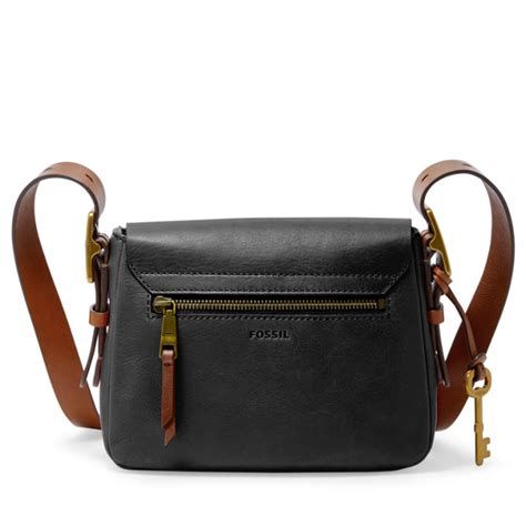 Tas Fossil Shopper Tote Bags 12187 small saddle crossbody fossil