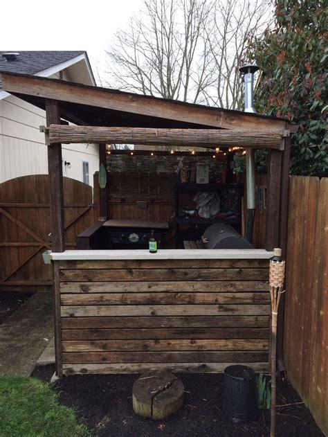 bbq shack  bar pinterest backyard