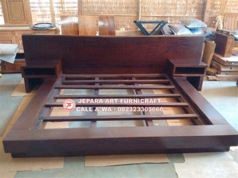Tempat Tidur Minimalis No 2 jual tempat tidur minimalis antik solid wood harga termurah