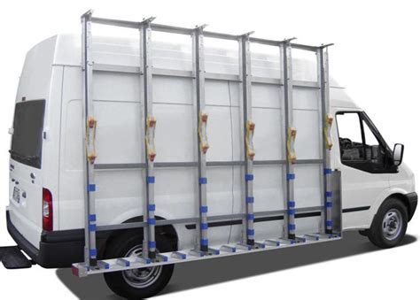 Glazing Racks For Vans by The Glass Racking Company Australia Glass Transport Solutions Glass Racks