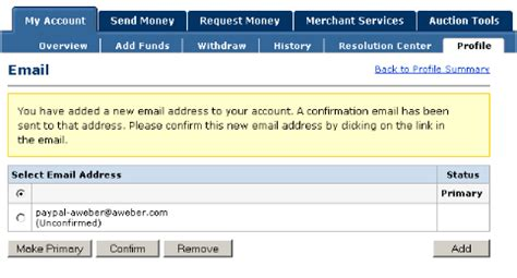 paypal autoresponder and follow up integration email