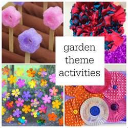Garden Art Crafts - 10 ideas for a preschool garden theme