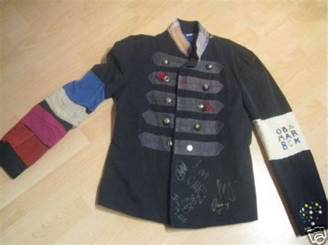 coldplay jacket chris martin signed viva jacket auctioned on ebay for