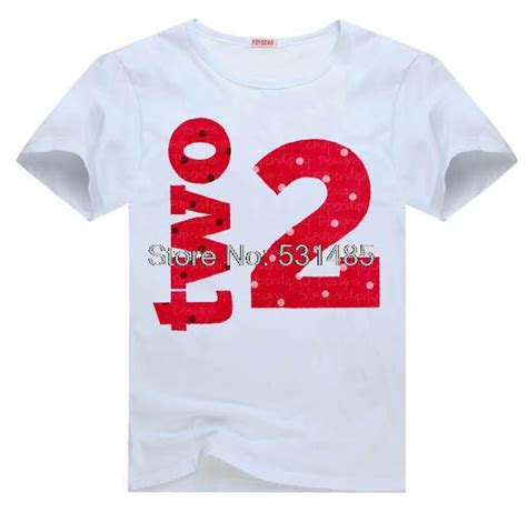 Big Size T Shirt Threr Secondkaos Three Second second birthday 2nd birthday t shirt for toddler children boy t shirt in t